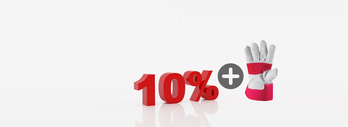 10+5% kedvezmény tűzvédelem, munkavédelem ajánlatkérés esetén